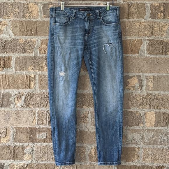 Zara Japanese Denim Edition Skinny Jeans 8